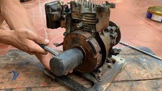 Restoration Old Rusty Gasoline Water Pump 1.5 Inch | Restore 4-stroke Rato Engine