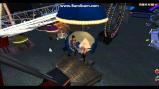 Pando Amusement Park Second Life.wmv
