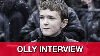 Game of Thrones Season 5 Finale Olly Interview - Brenock O'Connor