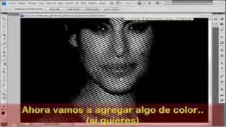 Tutorial Mapa de bits y semitonos photoshop en español