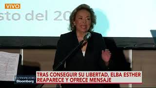 Mensaje íntegro de Elba Esther Gordillo Conferencia de prensa en Polanco, Ciudad de México