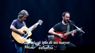 Dave Matthews Band. Baby blue. Subtitulos en español. HD.