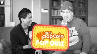 샘해밍턴 Sam Hammington takes the PopAsia Pop Quiz
