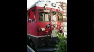 preview picture of video '2008 Train Bernina Express Station of Tirano Italia'