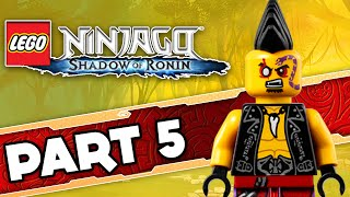 preview picture of video 'LEGO Ninjago Shadow of Ronin Part 5 | CrashCourse  Gameplay Walkthrough'