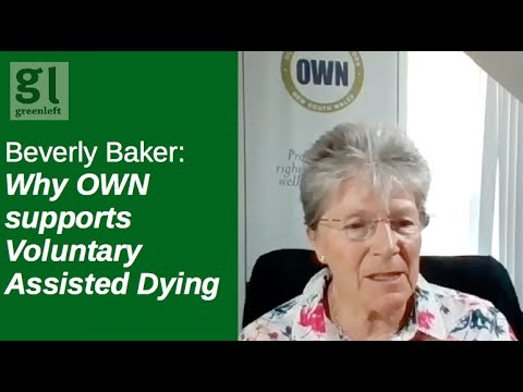 Why the Older Women's Network supports Voluntary Assisted Dying Bill (NSW)