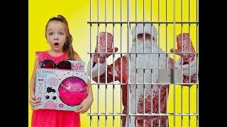Дед Мороз УКРАЛ ПОДАРКИ ! Что ТВОРИТСЯ в Нашем ДОМЕ ? LOL Dolls Surprise