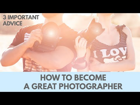 How to become a great photographer: Three important advice including The Guru Exercise.