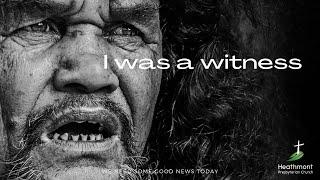 I was a witness. Mark 15:37-39