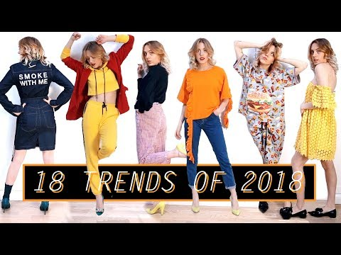 18 Hottest Trends Of 2018 ⋆ What To Wear In Spring/Summer?