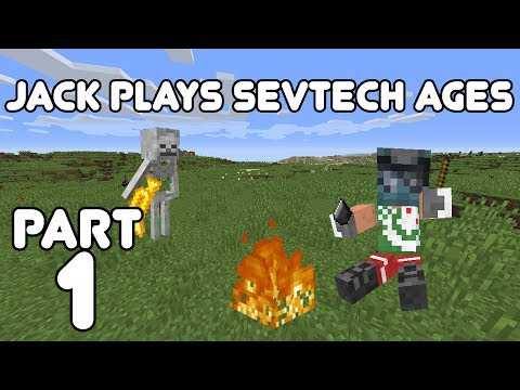 Let's Begin! Jack plays Minecraft: SevTech Ages Part 1