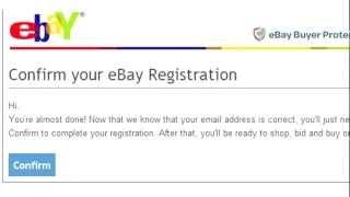 Аукцион eBay.com. Инструкция по регистрации.