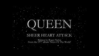 Queen - Sheer Heart Attack (Official Lyric Video) - YouTube