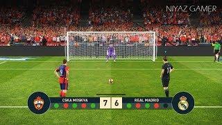 CSKA MOSKVA vs REAL MADRID   Penalty Shootout   PES 2019 Gameplay PC