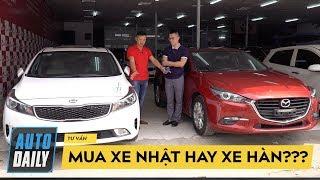 TIỀN CHƯA NHIỀU mua xe Hàn hay xe Nhật?