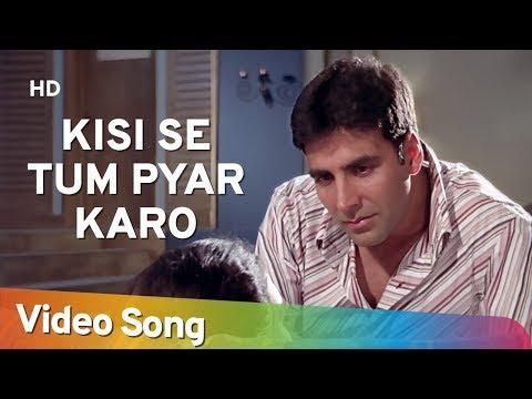 Kisi Se Tum Pyar Karo (Sad) | Andaaz Songs | Akshay Kumar | Lara Dutta |  Filmigaane