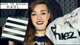Try On College Clothing Haul | Sephora, Hot Topic, Zumies, Etc...