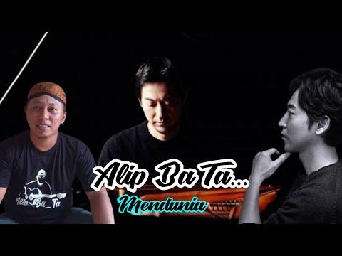Alip Ba Ta Kiss The Rain (Yiruma) - COVER gitar | alip ba ta reaction