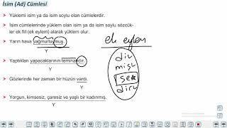 Eğitim Vadisi 10.Sınıf TDE 18.Föy Cümle Türleri 1 Konu Anlatım Videoları