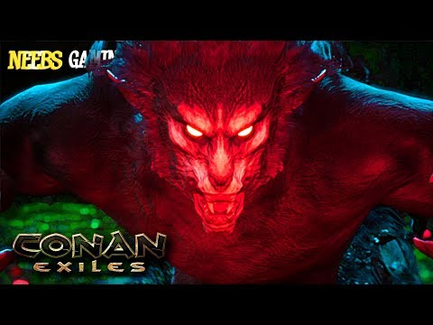 Conan Exiles - GIANT Undead King!