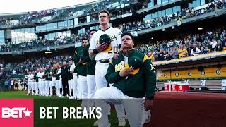 Athletes Band Together Against Trump - BET Breaks