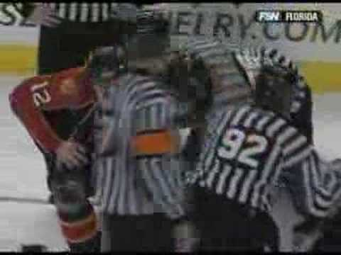 Olli Jokinen vs. Brett Clark