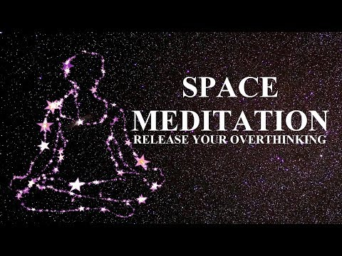 Guided meditation for overthinking and negative thoughts Sci fi tale | A Space story