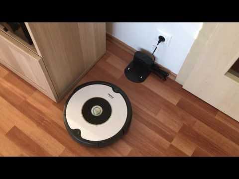 iRobot Roomba 605 going to docking station