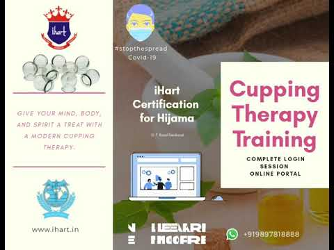 Hijama Therapy (Cupping Therapy) Training Course - YouTube