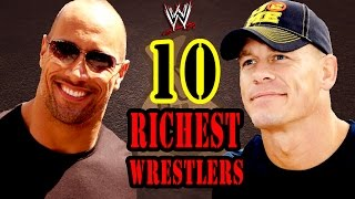 TOP 10 Richest WWE Wrestlers / Richest WWE Superstars