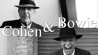 How Cohen and Bowie Faced Mortality
