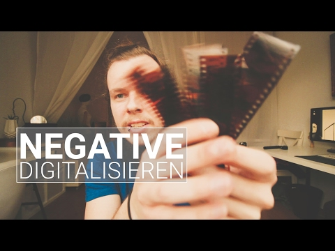 Negative digitalisieren | VLOG