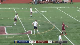 Full game: Woodstock 2, East Lyme 0 in ECC boys' soccer final