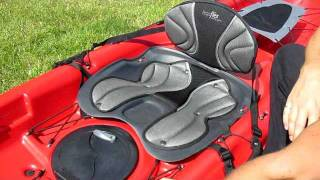 Demonstration of the Elie Gulf 120 Ergoflex adjustable seat