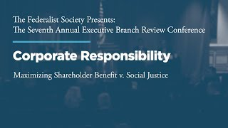 Click to play: Corporate Responsibility: Maximizing Shareholder Benefit v. Social Justice