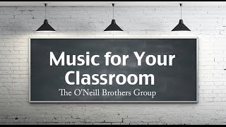 Instrumental Background Music for the Classroom