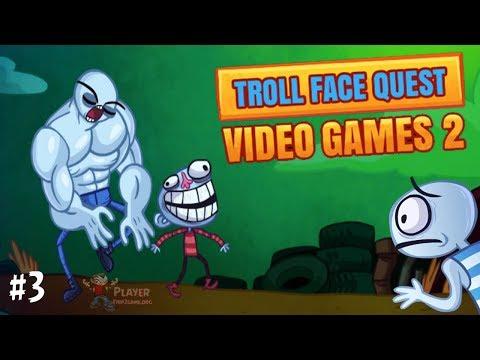 TrollFace Quest: Video Games -- Level 3 Walkthrough
