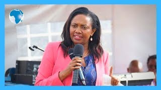Senator Kihika addresses mourner at the burial of three pupils who