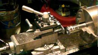 Lathe turning and parting Pt 1