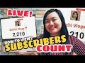 PAANO MAKIKITA ANG LIVE SUBSCRIBER COUNT (TAGALOG) | REAL TIME COUNT 2020