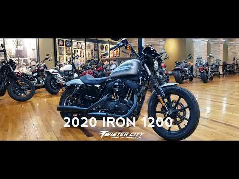 2020 Harley-Davidson® Iron 1200™ : XL1200NS