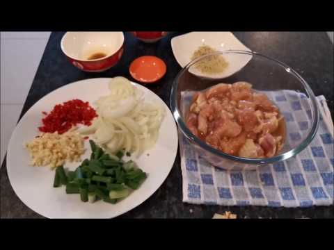 How to cook young coconut chicken at home
