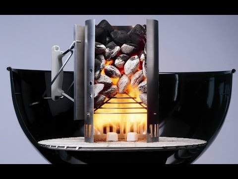 How To Start your weber charcoal grill – How To light a barbecue – Chimney Fire Starter