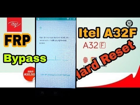 Itel A32F Previous Password Bypass & Hard Rest New Method - Star Hub