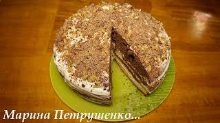 Смотреть онлайн Простой рецепт торта сметанник в мультиварке