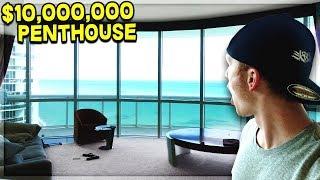 CRAZY $10M MIAMI PENTHOUSE TOUR!