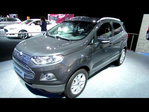 2013 Ford EcoSport Titanium - Exterior and Interior Walkaround - 2012 Paris Auto Show