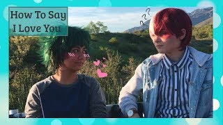 How To Say I Love You | BNHA Skit | Tododeku
