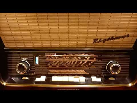 Régi rádió - TELEFUNKEN RHYTMUS 9 - 1959-ből!  - NYUGATI URH SÁVVAL!!!