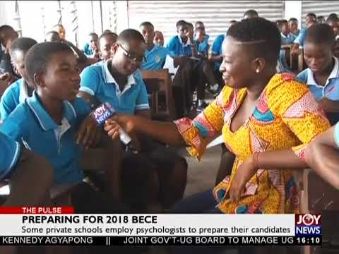 Preparing for 2018 BECE - The Pulse on JoyNews (1-6-18)